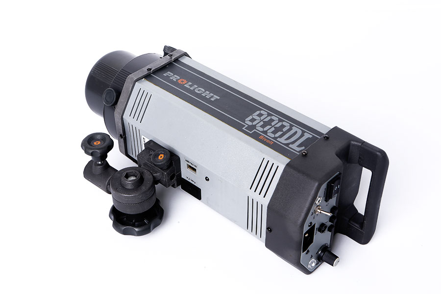 Flash prolight DL 800 wts (bi volt)